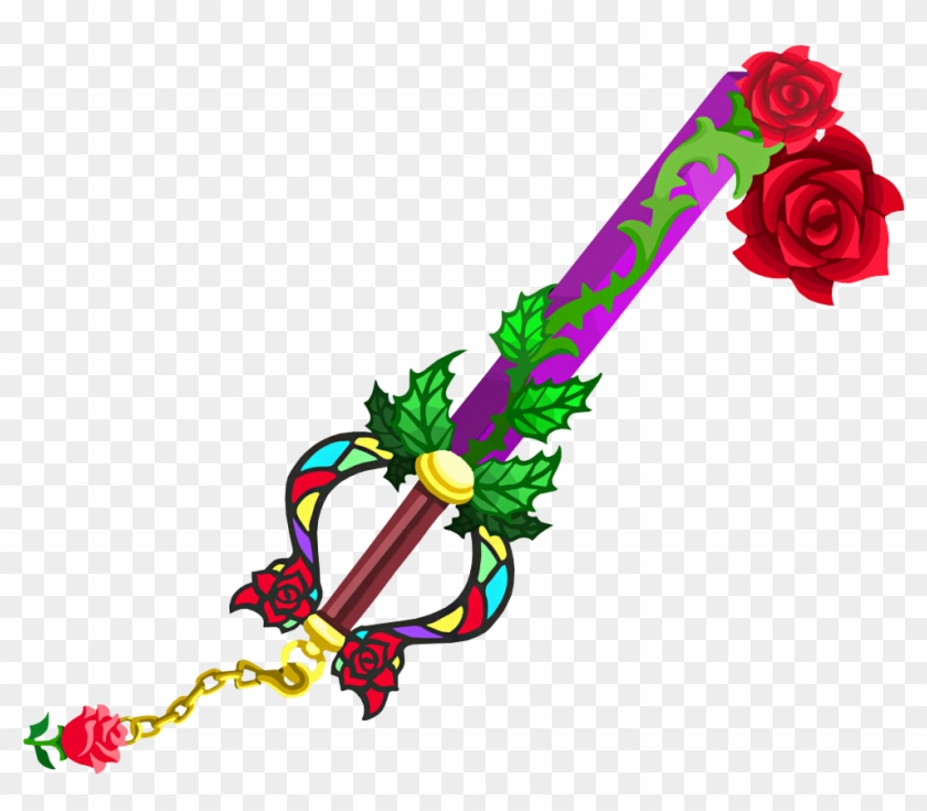 Beauty And The Beast Rose Download - Divine Rose Kingdom Hearts 1.5 #472143