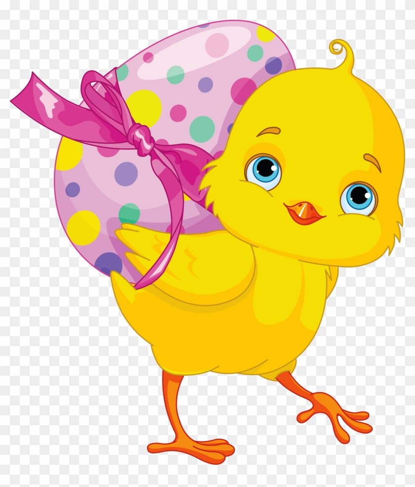 Fete Paques Gifs Et Png - Easter Chick With Egg #472212