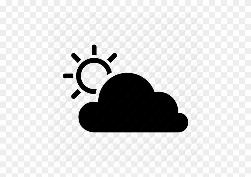 Partly-cloudy Icons - Cloud And Sun Icon #472320