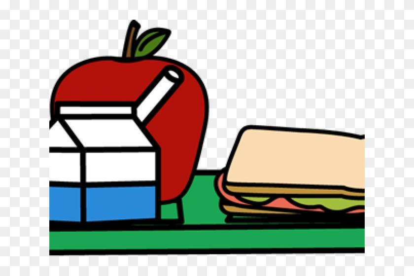 Lunch Tray Clipart - School Lunch Tray Cartoon #472413