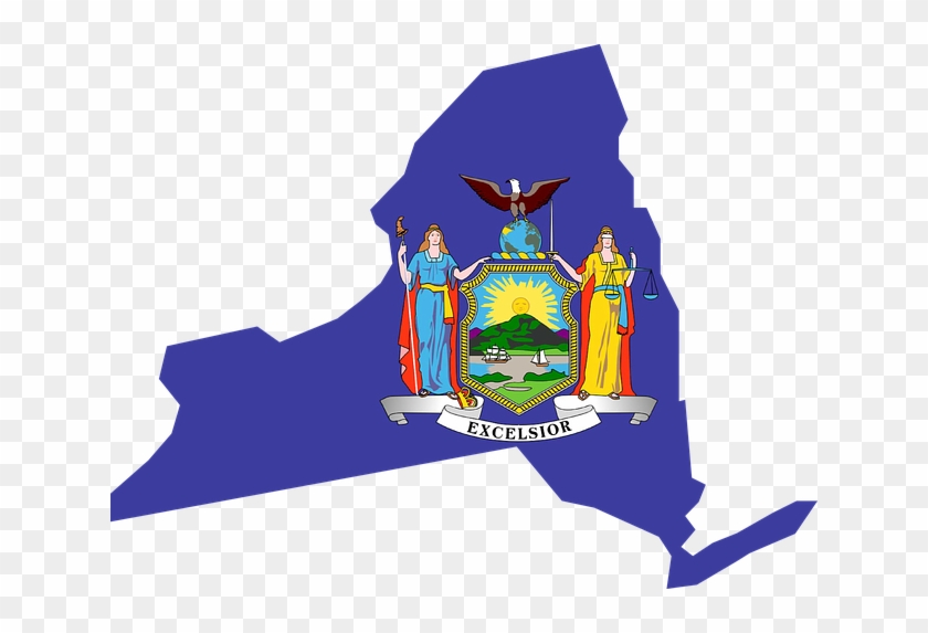 Protecting The Identity Of Pardoned New Yorkers Is - New York State Flag #473125