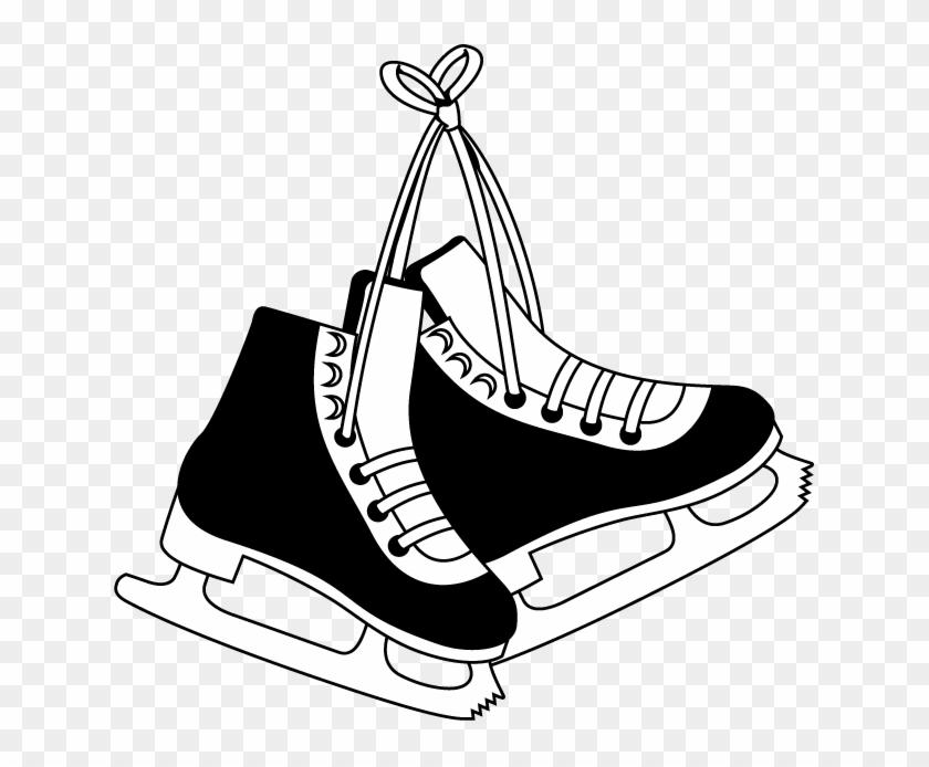 photograph relating to Hockey Skate Template Free Printable identified as Ice Skate Clip Artwork Clipart Least difficult - Коньки Рисунок - Cost-free