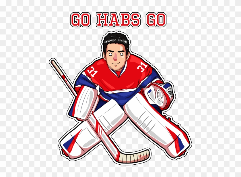 Ice Hockey Clipart Draw Goalie Carey Price Free Transparent Png Clipart Images Download