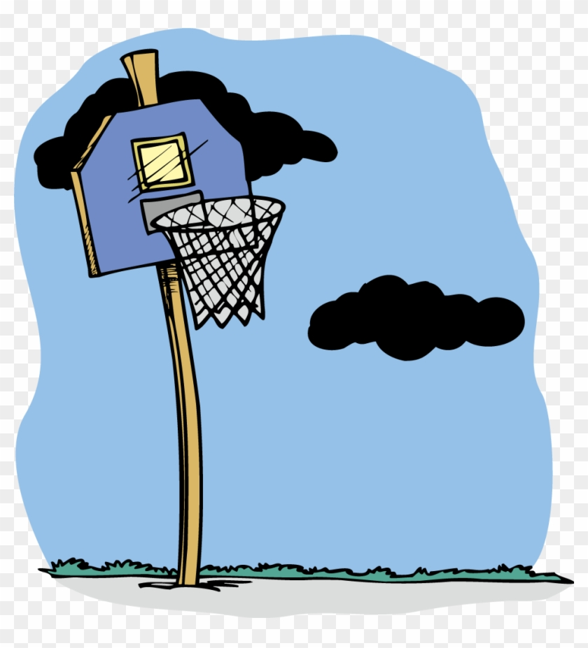 Basketball Stencil 103