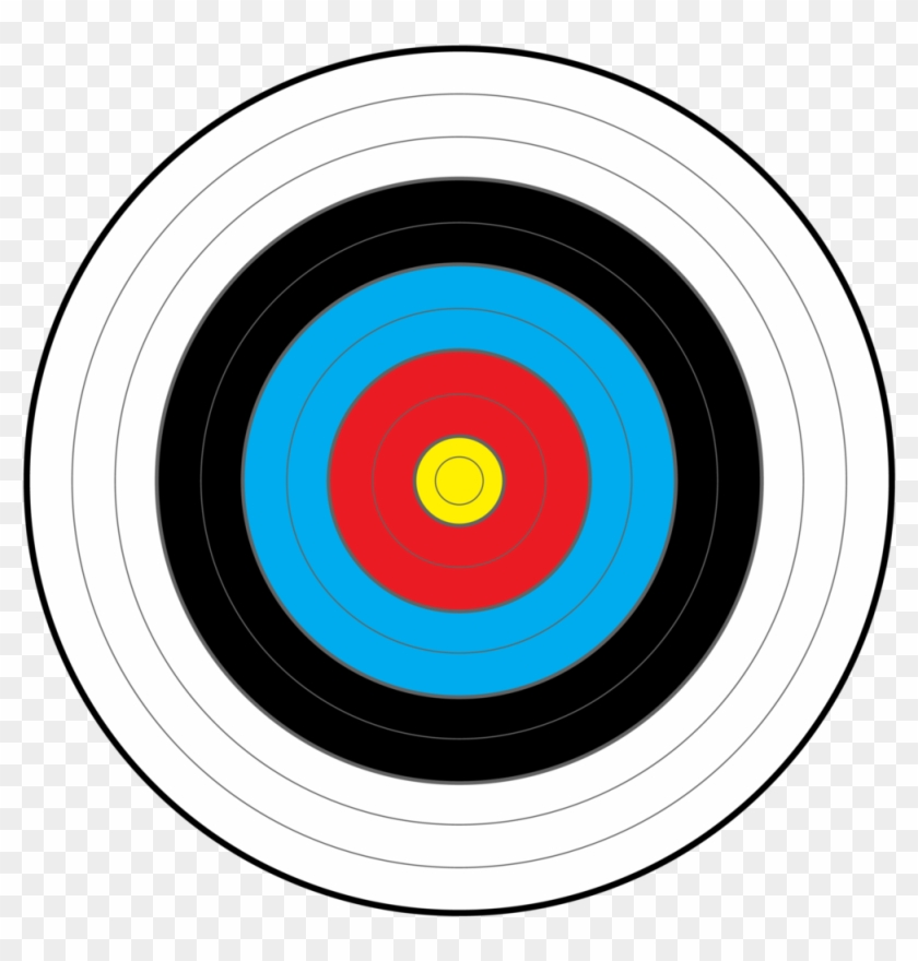 Free Bullseye Clipart - Clip Art Target Symbol, HD Png Download ,  Transparent Png Image - PNGitem