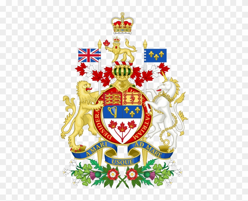 Note That Template - Canada Coat Of Arms #474268