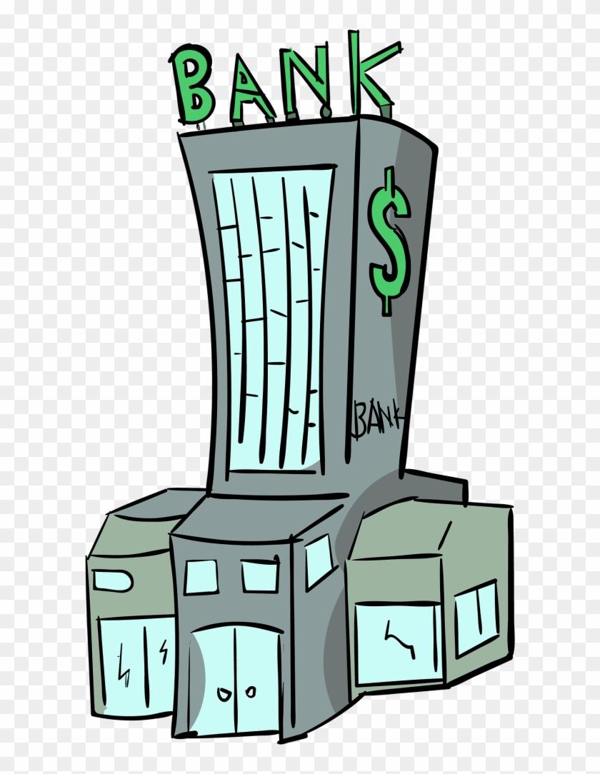 Банк картинки мультяшные