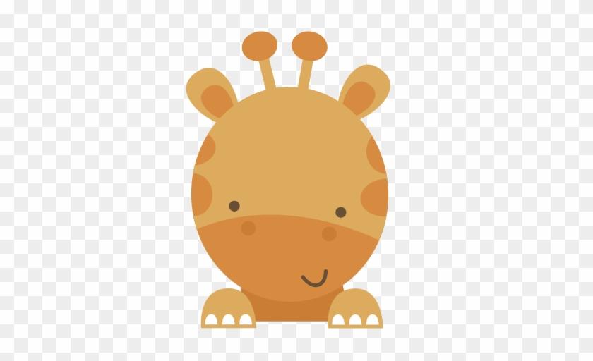 Pin Baby Animal Clipart - Baby Giraffe Baby Shower #474939