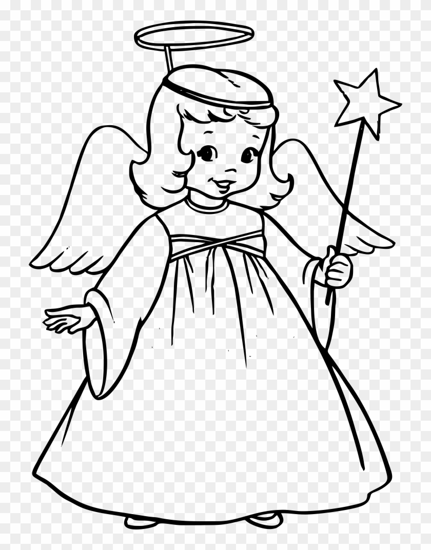 christmas angle drawingangle drawing christmas angel coloring pages