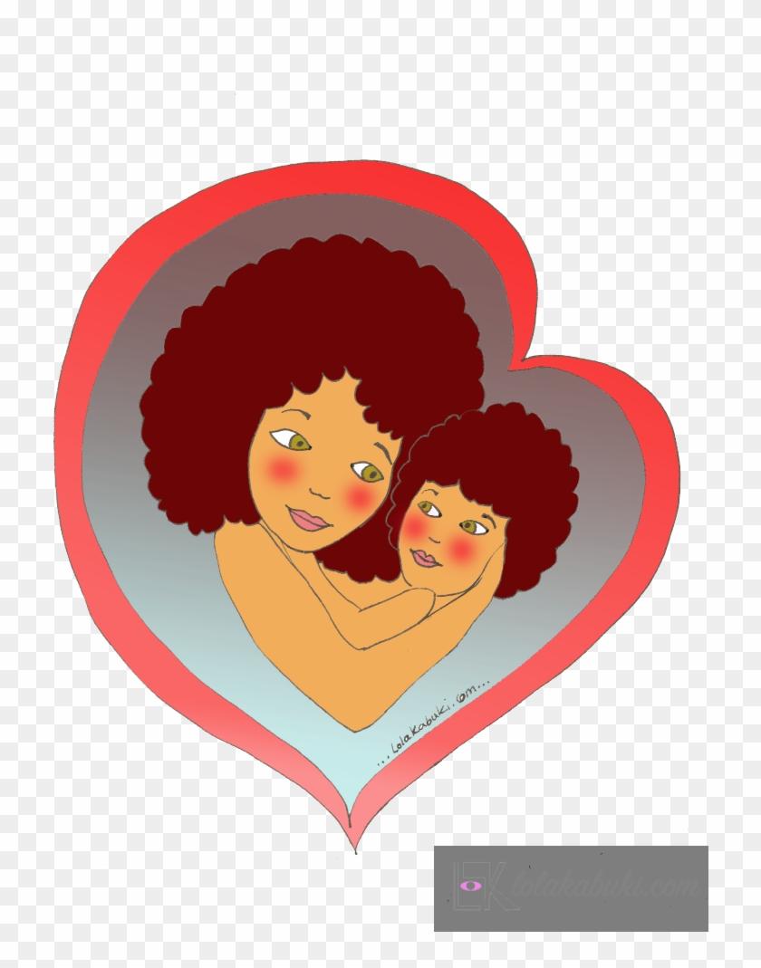 Postal Dia De La Madre Corazones Postcard Free Transparent Png