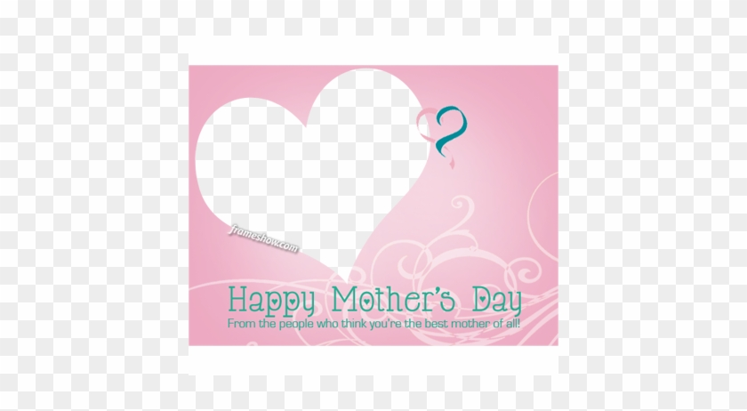 A - Photograph Frame Happy Mothers Day #475286
