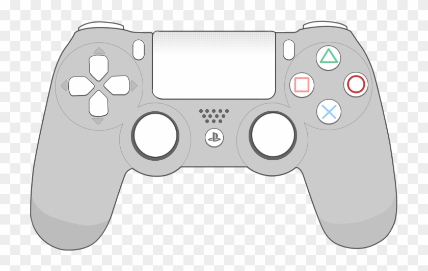 Ps4 Drawing Game - Playstation 4 Controller Cartoon - Free ...