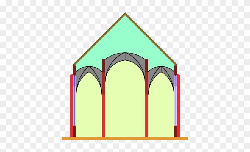 Stepped Hall Church - Planta De Salon Iglesias #476861