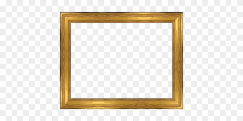 Vintage Gold Frame Transparent #477277