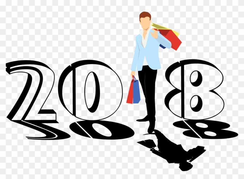 Wishing Happy New Year 2018 - Free Transparent PNG Clipart Images ...