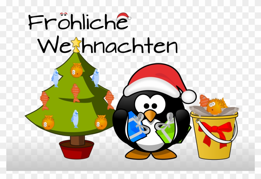 penguin xmas card weihnachten clipart free transparent. Black Bedroom Furniture Sets. Home Design Ideas
