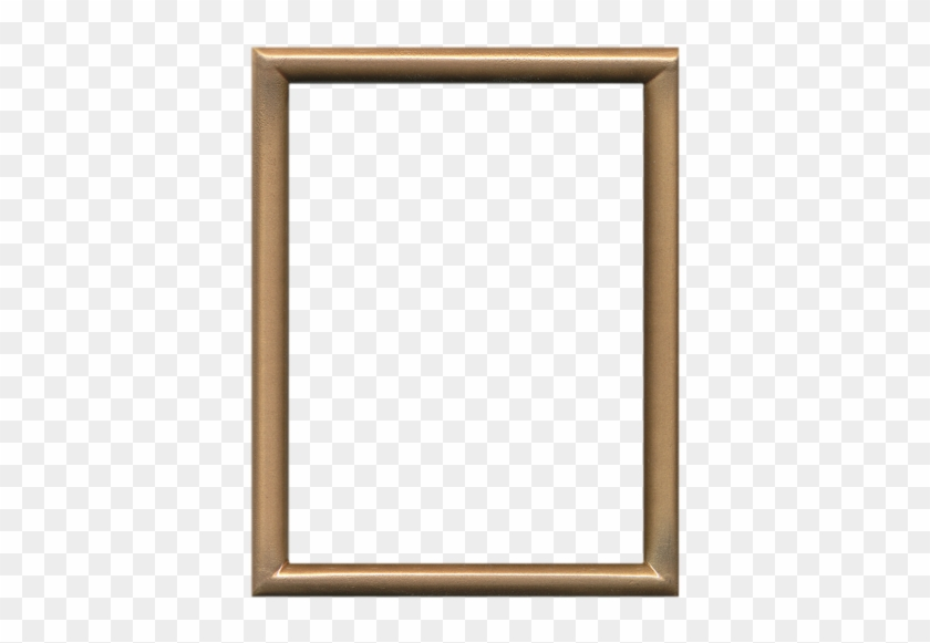 Click Here For Larger Image - Simple Gold Picture Frame #477438