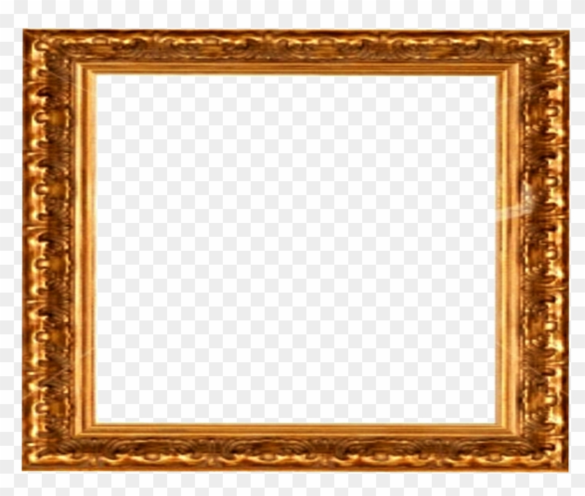Ornate Gold Frame Border I Antique Gold Picture Frame Free