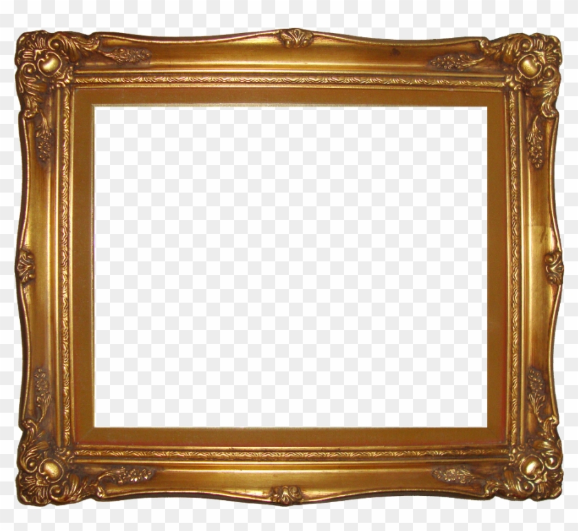 Gold Frame Border Square - Transparent Gold Frame Png #477541