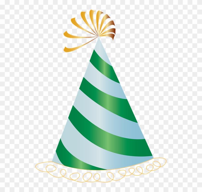 Party Hat Celebration Birthday - Party Hat Clip Art #477614