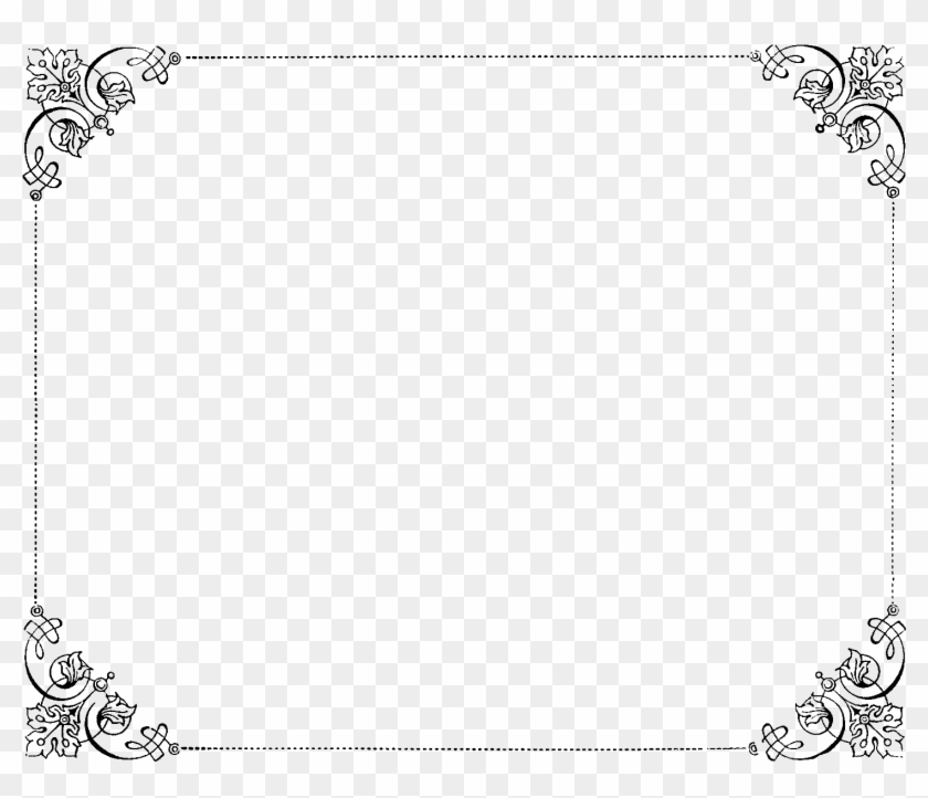 Lovely Invitation Border Designs Png 8 Luxury Invitation - Thank You Very Much #477757