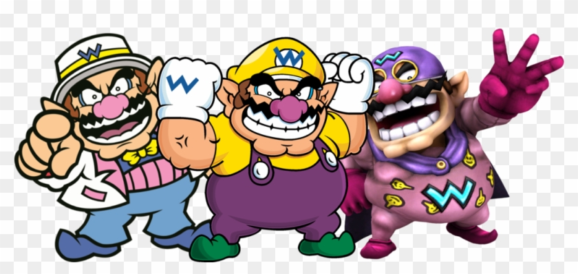 Composte Wario Time By By Thevenomousarchive - Nintendo Super Mario Packed Characters Fabric #478096