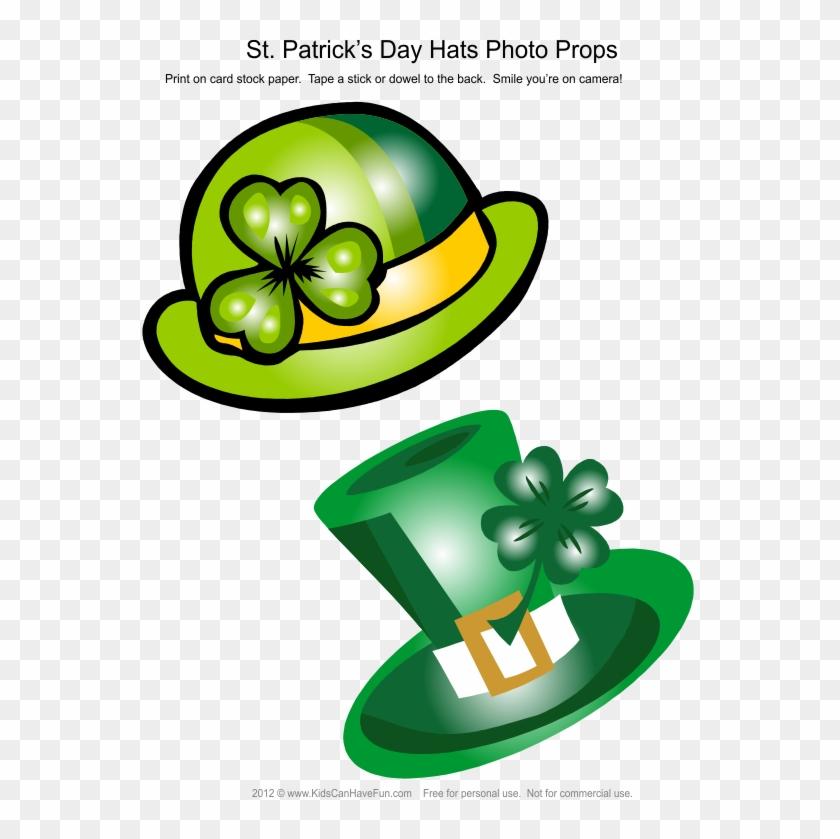 Patrick's Day Leprechaun Hats Photo Booth Props - Saint Patrick's Day #478152
