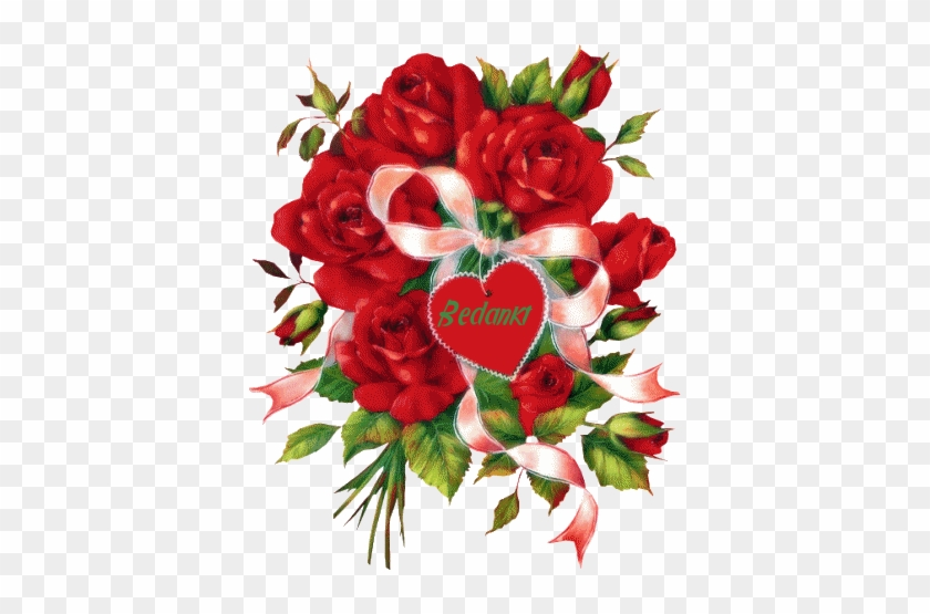 Clipart Bonne Fête gallery of free animated gifs of flowers with hearts - bonne fete