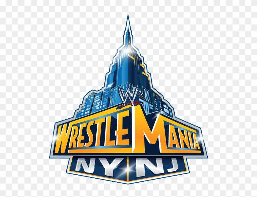 John Cena Def - Wrestlemania Ny Nj Logo - Free Transparent