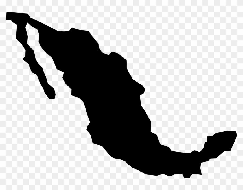 Mexico Rubber Stamp - Mexico Map Icon Outline - Free