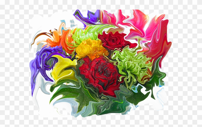 Click And Drag To Re-position The Image, If Desired - Bouquet #479024