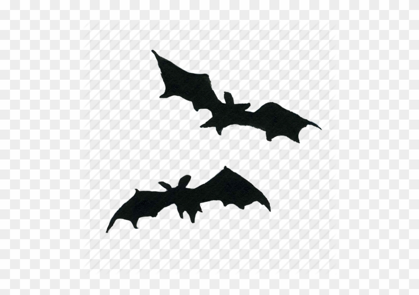 bat bats fly flying halloween scary silhouette halloween bat transparent