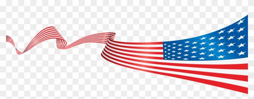 Flag - Usa Flag Banner Png #479385