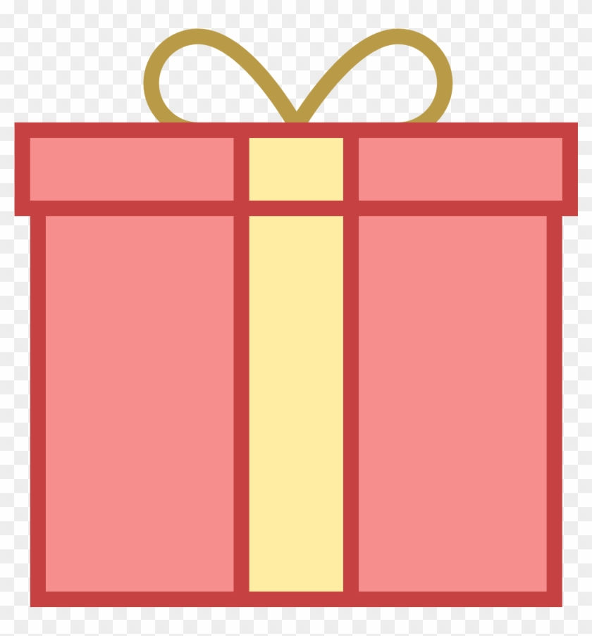 Square Gift Clipart - Gift Icon #479783