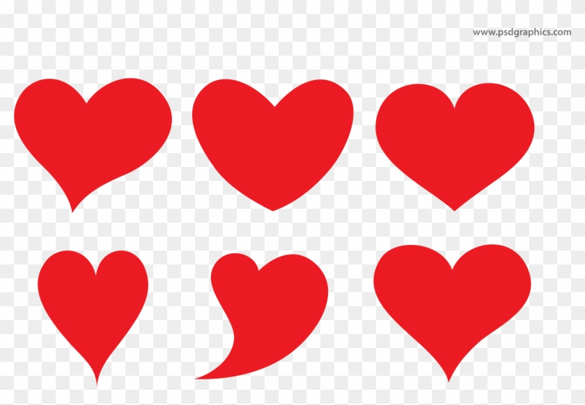 2384b0c6d2 Hearts Background - Heart Shapes Vector - Free Transparent PNG ...