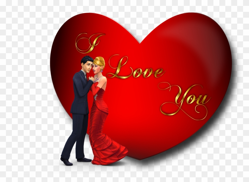 Happy Valentines Day Hear - Love You Hd Images Free Download