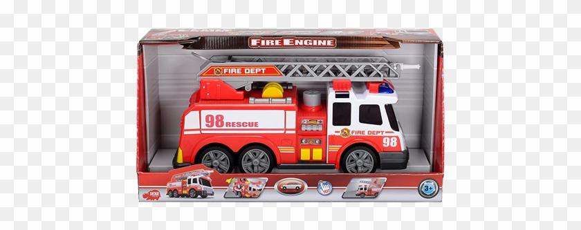 Dickie Fire Truck With Lights And Sound #480569