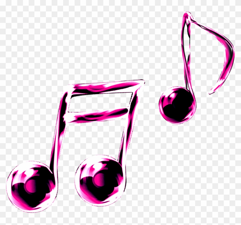Pin Music Notes Clipart - Colourful Single Music Notes #481476