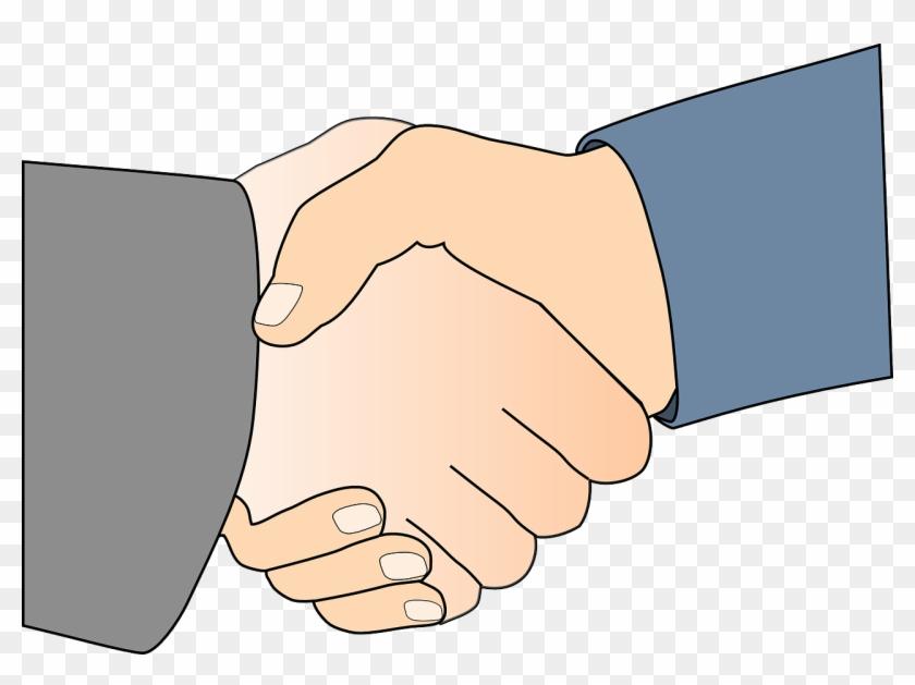 People Shaking Hands Clip Art #481563