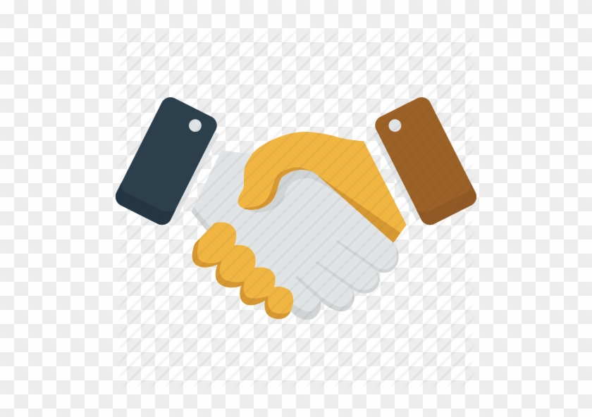 Partnership Logo Handshake For Kids - Business Partners Shaking Hands #481598