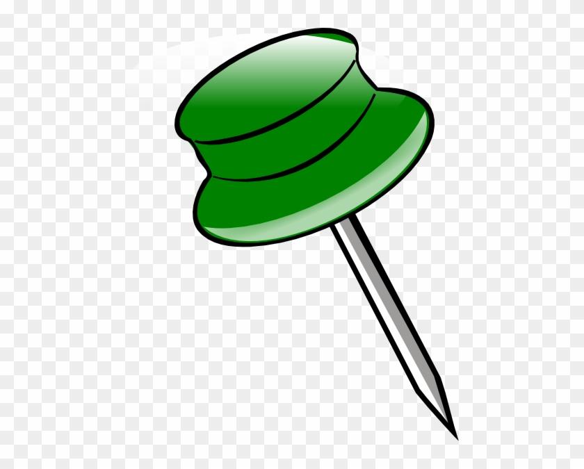This Free Clip Arts Design Of Google Map Pin - Pin Clipart #482220