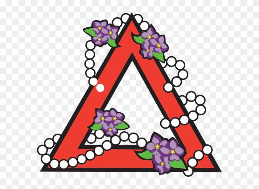 violet clipart delta sigma theta delta sigma theta logo