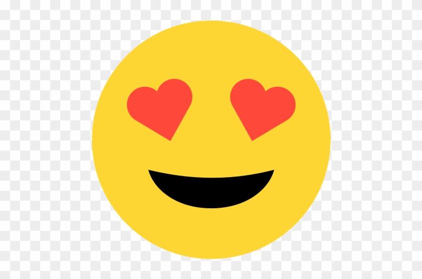 Emoji - Heart Eyes - Emoji I Love U - Free Transparent PNG Clipart