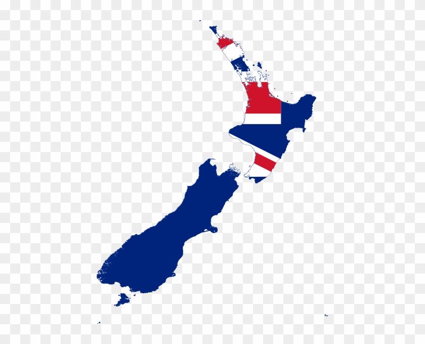 Flag Map Of New Zealand Australia Vs New Zealand Free
