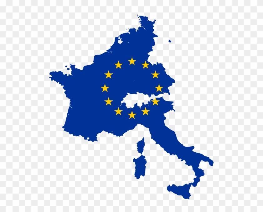 Europe Flag Map Eu Flag Map Www Imgkid The Image Kid - Europe Map With Flag #483568