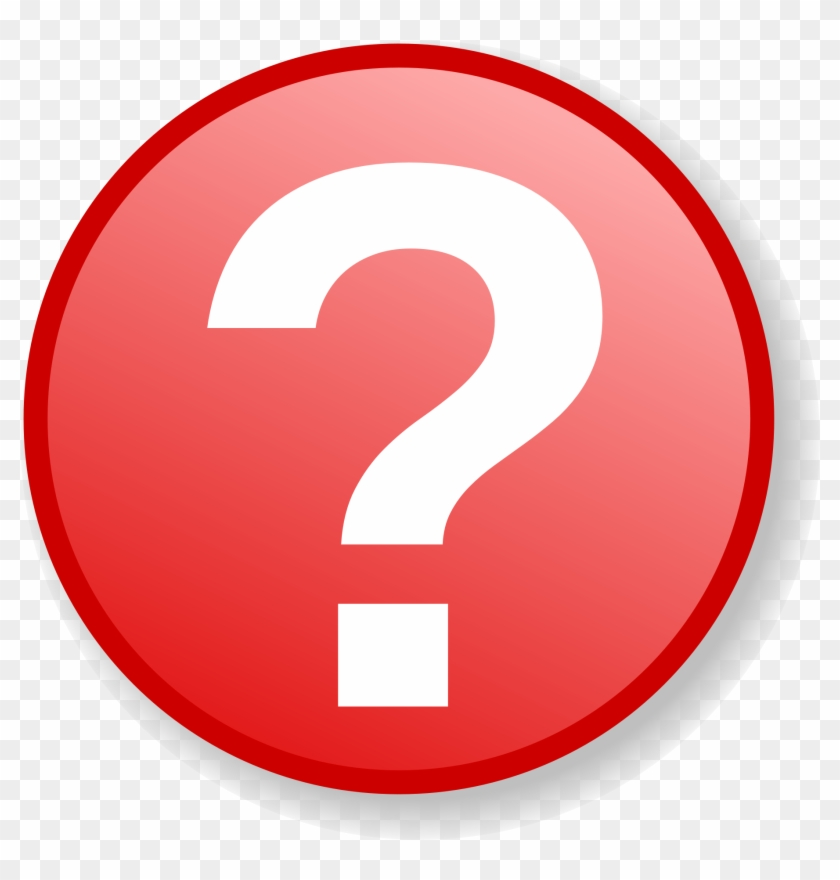 Filered Question Icon With Gradient Background - Info Icon #483783