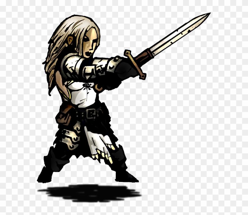 Warhammer Clipart Paladin - Darkest Dungeon Crusader Sprite #483851