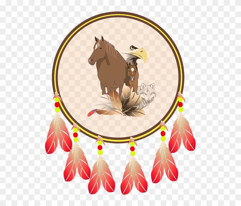 Eagle Indian Shield, Blason Indien, Shield, Horse, - Native American Shield Png #483884