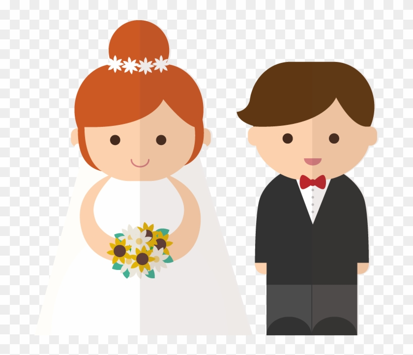 Bride And Groom Clipart Transparent Background Clipart Bride And