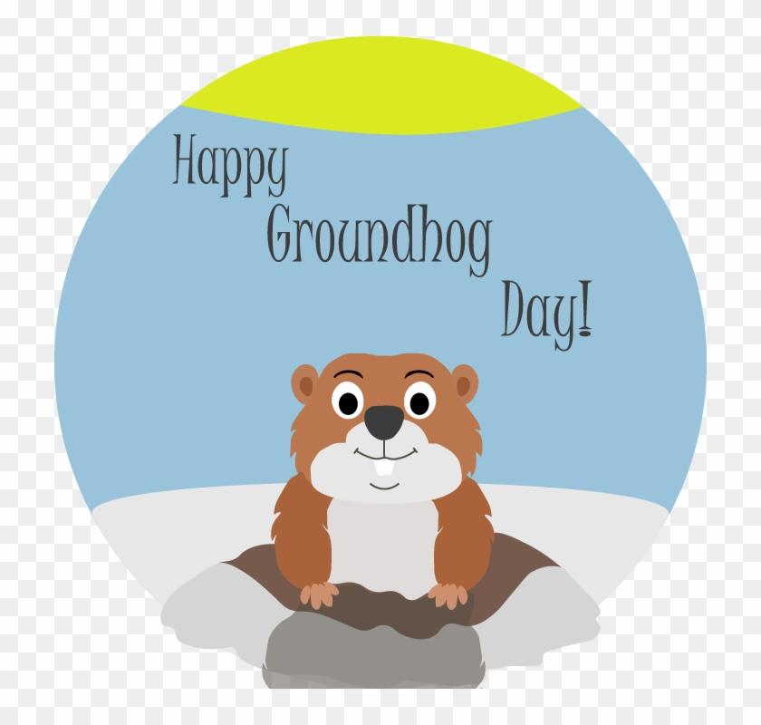 Groundhog Clipart Winter Day - Groundhog Day 2018 #484621